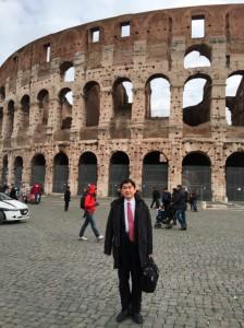 Universita Campus Bio-Medico di Romaで講演2