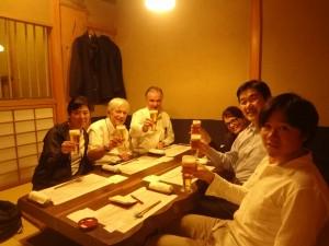 Dinner at Ueno