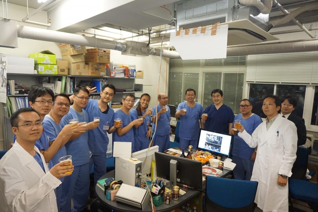 DSC02778医局Farewell party